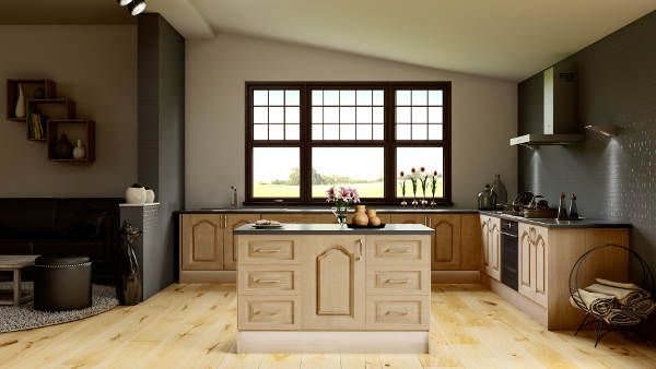 Woodgrain Kitchens