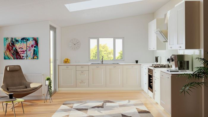 Cambridge Ivory Kitchen Doors