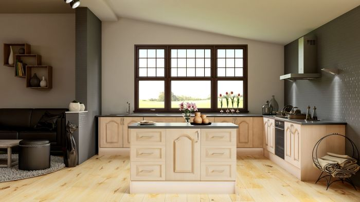 Canterbury Canadian Maple Kitchen Doors