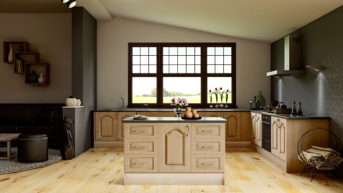 Canterbury Lissa Oak Kitchen Doors