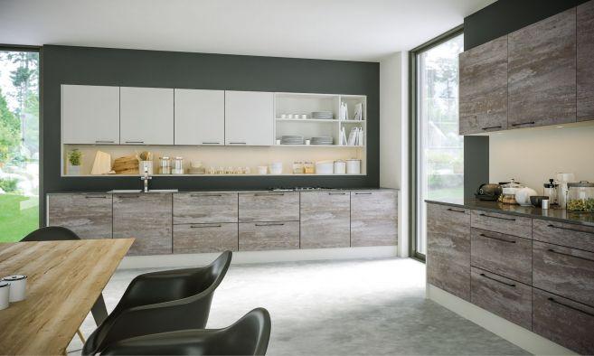 Zurfiz Driftwood Light Grey Kitchen Doors