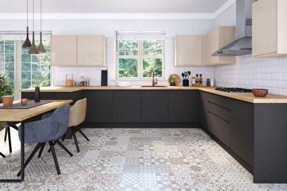Jayline Supermatt Graphite Kitchen