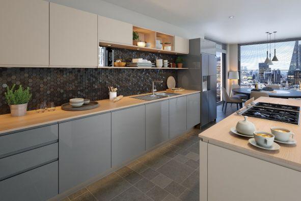 Jayline Supermatt Cashmere Kitchen