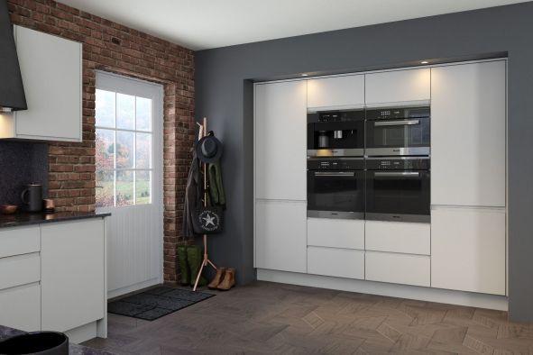 Jayline Supermatt Light Grey Kitchen
