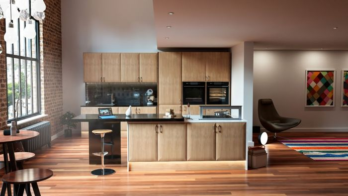 Lincoln Lissa Oak Kitchen