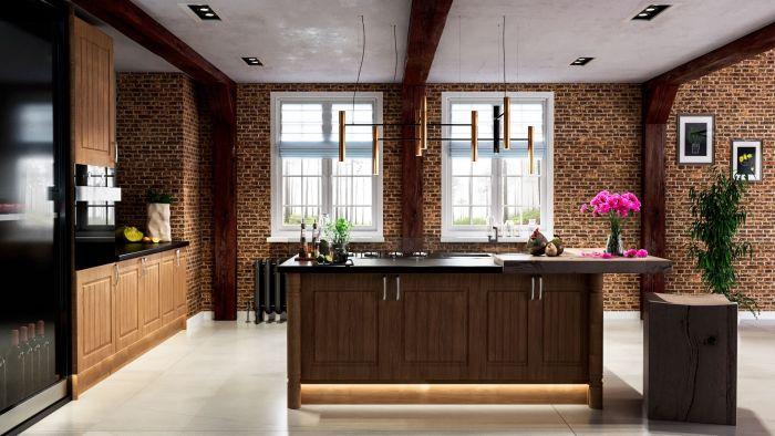 Bella Lissa Oak Newport Kitchen Doors