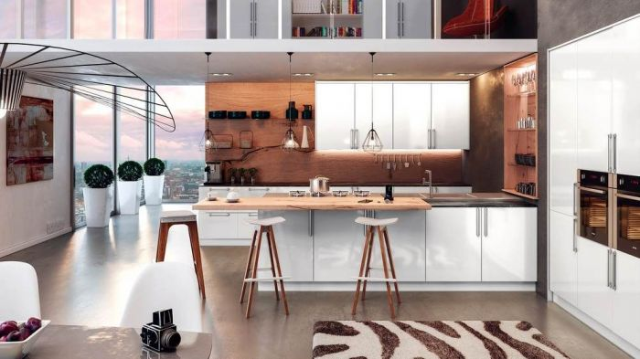 Venice High Gloss White Kitchen Doors