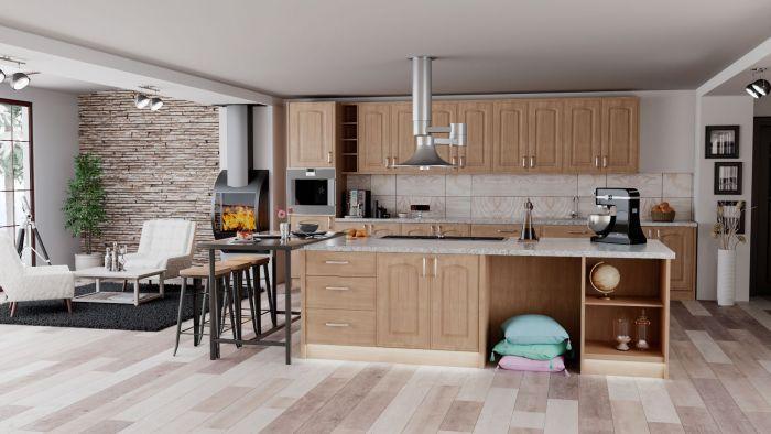 Bella Lissa Oak Westbury Kitchen Doors