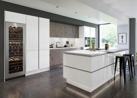 Zurfiz Magma Titanium Kitchen Doors