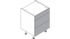 500mm - 3 Drawer Pack (1 x 140h, 2 x 283h)