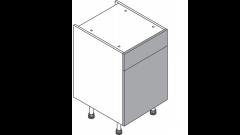 500mm - Single Sink Unit - Dummy Drawer
